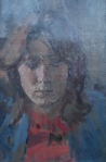Portrait of Julia Sands 1978