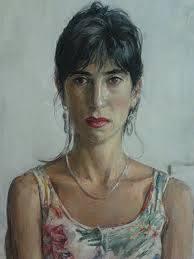 Sarah Raphael by Nick Garrett. Oil on panel