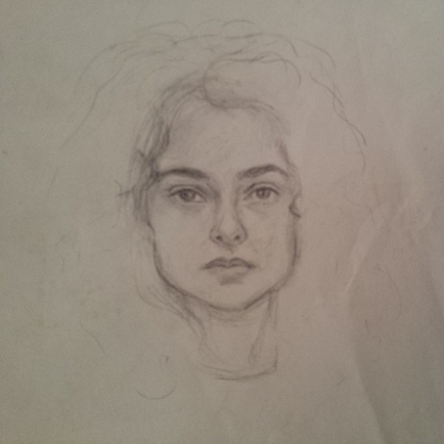 Study for portrait