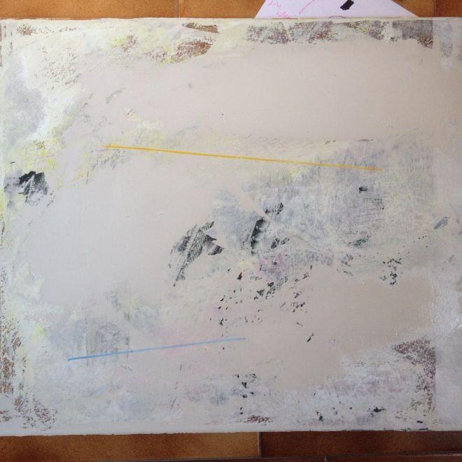 Language Acrylic on canvas Nick Garrett